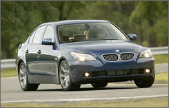 The 2004 BMW 5 Series is one of the vehicles being recalled for a possible air bag defect.