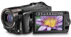 Canon's Vixia camcorders use tapeless video tech.