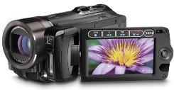 Canon's Vixia camcorders use tapeless video tech.