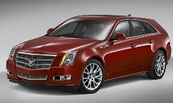 Cadillac will unveil its CTS wagon on Friday.
