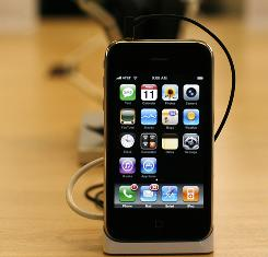 IPhone 3G users have complained about dropped calls and other connection issues. Apple says a software update at least partly fixes the problem.