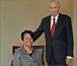 Political diversity is a feature of more corporate boards, such as Marriott's, where Debra Lee backs Obama and Bill Marriott supports McCain.