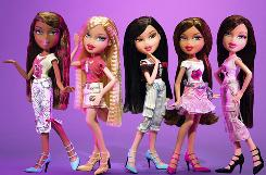 """Feelin' Pretty"" Bratz dolls are shown in this file photo from MGA Entertainment."