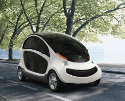 The GEM Peapod is the next generation of neighborhood-electric vehicles.