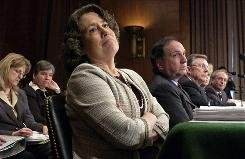 Sheila Bair, chairman of FDIC, has gotten high marks for her handling of the Wachovia and Washington Mutual deals amid the financial crisis.