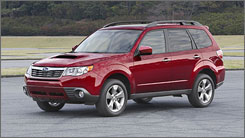 "USA TODAY's James R. Healey also liked the Forester. He wrote: ""In the end, you can make rational arguments for RAV4 and CR-V, but neither has the mix of appealing personality, sophisticated AWD, straightforward presentation and carlike manners that give the new Forester exceptional allure."""