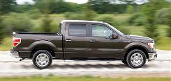 Ford's new F-150 gives a smooth, agile ride, and its SFE version gets optimum gas mileage.