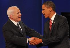 Democrat Barack Obama and Republican John McCain have both pledged to lower taxes for millions of Americans, but in different ways.