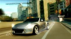 The Nissan 370Z in 'Need for Speed: Underground.'