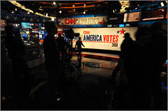 CNN Election Center in New York plans on using holographic technology.