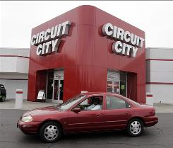 Circuit City said it was facing pressure from vendors who threatened to withhold products during the holiday season.