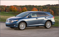 Venza will rival sedans like Nissan's Altima, Toyota says.