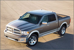 The Dodge Ram is immensely appealing, with nice features such as a high-powered Hemi engine.