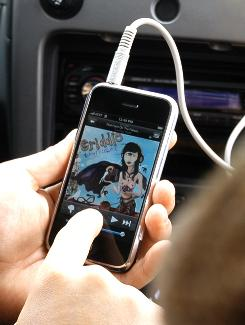 Pandora's interactive Internet radio service is one of more than 10,000 iPhone applications available at the iTunes App Store.