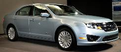The 2010 Ford Fusion hybrid will get 39 miles per gallon.