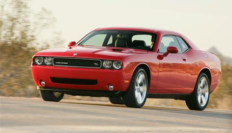 The 2009 Challenger is a modern take on the 1970s muscle car.
