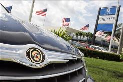 Chrysler's sales slid 53.1% in December.
