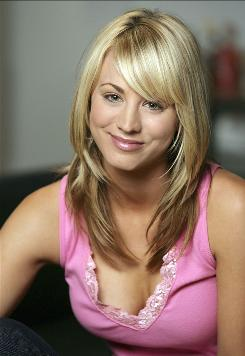 Kaley Cuoco is one of the stars of CBS' The Big Bang Theory.