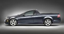 GM says the Pontiac G8 sport truck no longer fits into its plans.