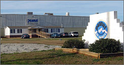 Peanut Corp. of America's plant in in Blakely, Ga.