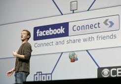 Facebook, founded by Mark Zuckerberg, above, has been used by cybercrooks to spread viruses.