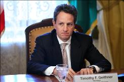 Timothy Geithner convenes the President's Working Group on Financial Markets on Thursday.
