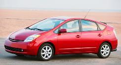 Toyota Prius' sales fell last month.