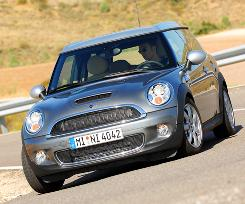 A 2008 Mini Cooper S Clubman. The Clubman is one of the Mini models that could get a diesel engine in the U.S. market.