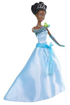 The Princess and the Frog Tiana doll will be unveiled Monday in New York. 