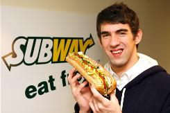 Subway is sticking with swimmer Michael Phelps during his controversy.