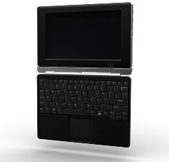 The Touch Book is a versatile new device that works as both a netbook and a tablet thanks to a detachable keyboard and a 3D touchscreen interface.