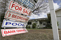 Foreclosure signs may be fewer in the future.