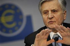 "ECB President Jean-Claude Trichet said the euro zone should ""gradually recover"" in 2010."