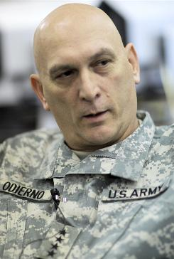 The top U.S. commander in Iraq, Gen. Ray Odierno, said he does not believe the Iraqi government will ask the U.S. military to remain in the country past 2011.