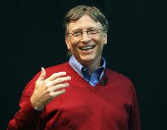 Bill Gates lost $18 billion but regained his title as the world's richest man.