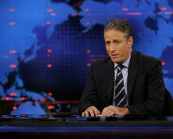 "Jon Stewart of Comedy Central's ""The Daily Show"" has zinged some stings at CNBC's coverage since Rick Santelli canceled an appearance."