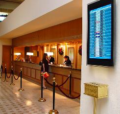 Miami-Dade Aviation Department is expanding real-time flight information at nearby hotels.