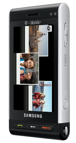 The camera part of the Samsung Memoir cellphone acts like a typical point-and-shoot.