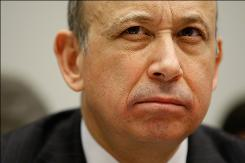 Goldman CEO Lloyd Blankfein is working on repaying TARP funds.