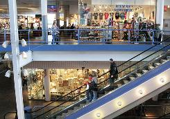 Visitors to Pier 17 mall at South Street Seaport in New York on Thursday experienced no changes in operations.