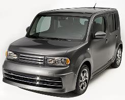 The 2009 Nissan Cube is new to the United States.