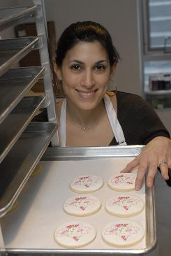 Gumdrop Cookie Shop owner Thea Zagata knows how tough things are for entrepreneurs these days.