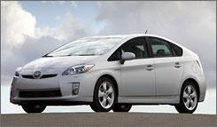 2010 Prius hybrid.
