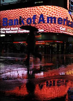 Bank of America earned $4.2 billion on record revenue of $36 billion in the first quarter, but onlookers are worried that it can't maintain that.