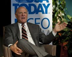 IAC/InterActiveCorp CEO Barry Diller at USA TODAY's CEO Forum.