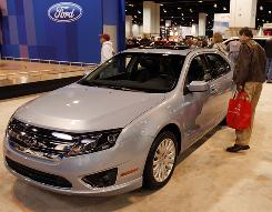 Sales of the 2010 Ford Fusion helped Ford gain market share.