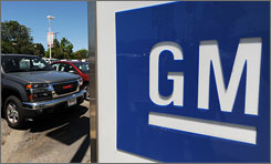 Troubled auto giant General Motors said  it will seek to eliminate nearly 1,100  of its U.S. dealers by the end of 2010