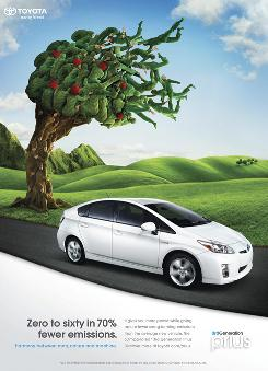Ad Track: Prius, Insight face off in battle of the green, hybrid ...