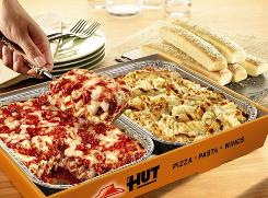 Pizza Hut has expanded its Tuscani Pastas line with the launch of Tuscani Pasta Pairs.
