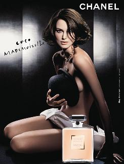 Is it Keira Knightley or Natalie Portman in this ad for Chanel's Coco Mademoiselle fragrance? Read on.